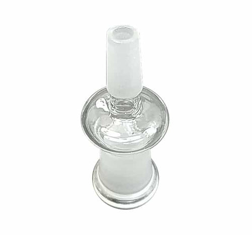 Glass Adapter Fitting - 10mm Male to 10mm Male