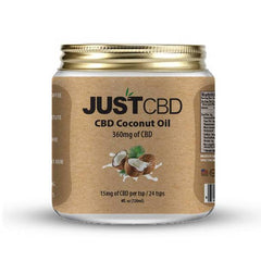 JustCBD - CBD Topical - Coconut Oil - 360mg