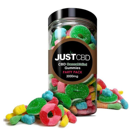 JustCBD - CBD Edible - Party Pack Gummies - 10mg