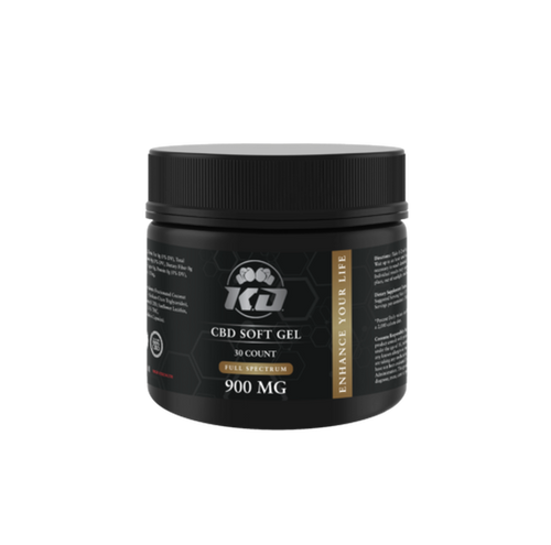 CBD Capsules Knockout CBD - CBD Soft Gel - Capsule - 30mg