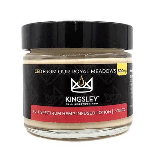 CBD Cream Kingsley - CBD Topical - Full Spectrum Lotion Scented - 600mg