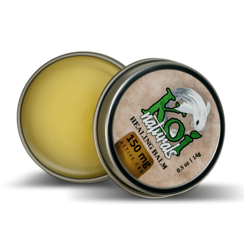CBD Balms Koi Healing Balm Travel Size - CBD Infused Balm (150MG)