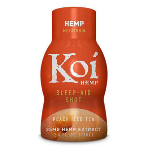 CBD Edibles Koi CBD - CBD Drink Shot - Peach Iced Tea - 25mg