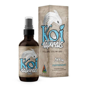 CBD Oil Koi CBD - CBD Tincture Spray - Full Spectrum Peppermint - 1500mg-3000mg