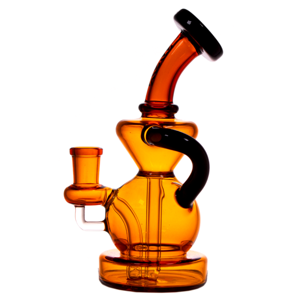 recycler bong Maverick Glass - MINI TAHOE BULB RECYCLER