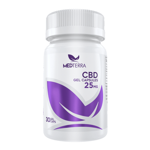 CBD Capsules CBD Softgels Pure Concentrate 750 mg