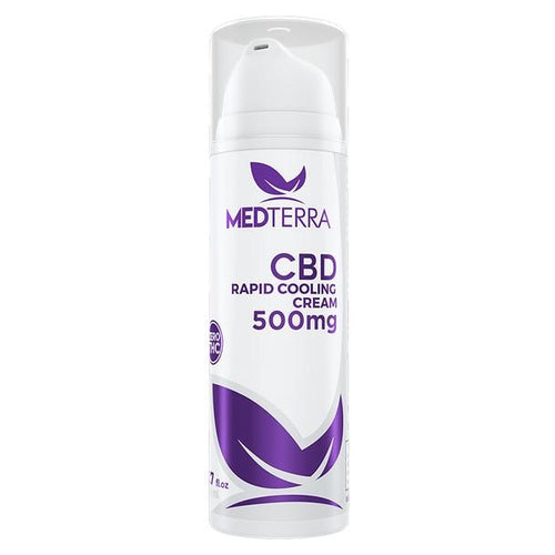 Medterra - CBD Topical - Rapid Cooling Cream 1.7 fl oz - 250mg-500mg