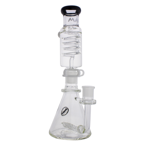 Beaker bongs Mini Inline Freezable Coil System