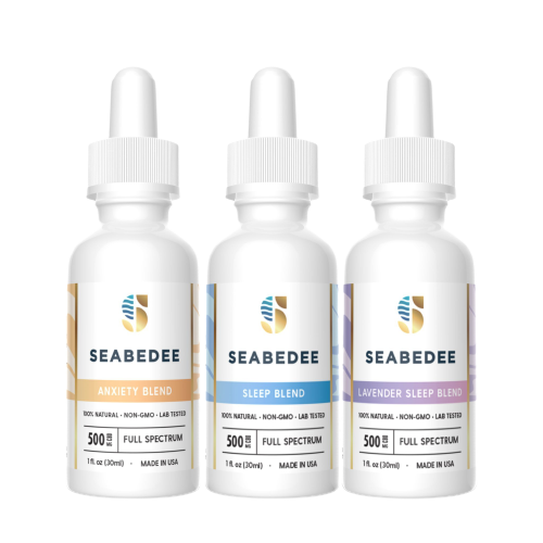 CBD Pain Relief SEABEDEE - MULTI RELIEF BUNDLE