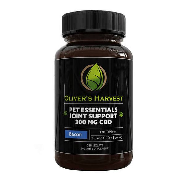 Oliver's Harvest CBD - CBD Pet Capsule - Joint Support Tablets - 2.5mg
