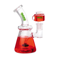 Ooze Glyco Glycerin Chilled Glass Water Pipe - Scarlet