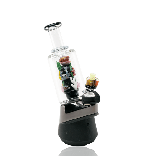 Glass Bongs Save the Seas PuffCo Peak Attachment by Empire Glassworks
