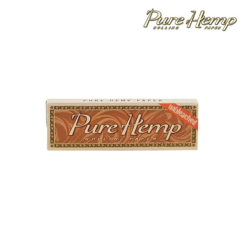 Rolling papers Pure Hemp Unbleached Single Wide Rolling Papers