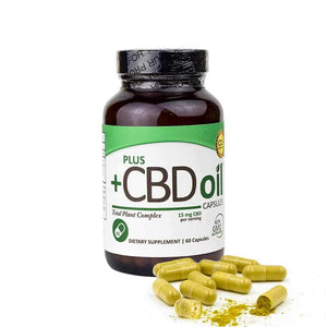PlusCBD Hemp Oil Capsules (900MG)