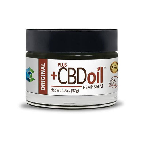 PlusCBD Oil - CBD Topical - Original Raw Balm - 50mg