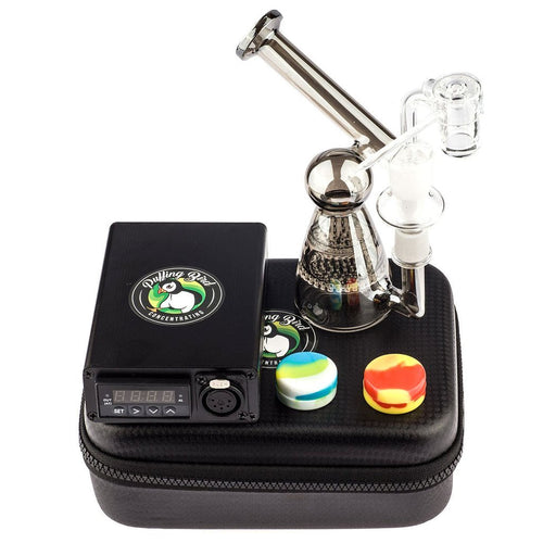 Bongs Quartz Enail W/ Salt Shaker Dab Rig Bundle