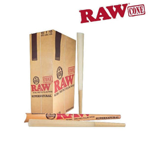 RAW Pre-rolled Cone, Supernatural, 12""
