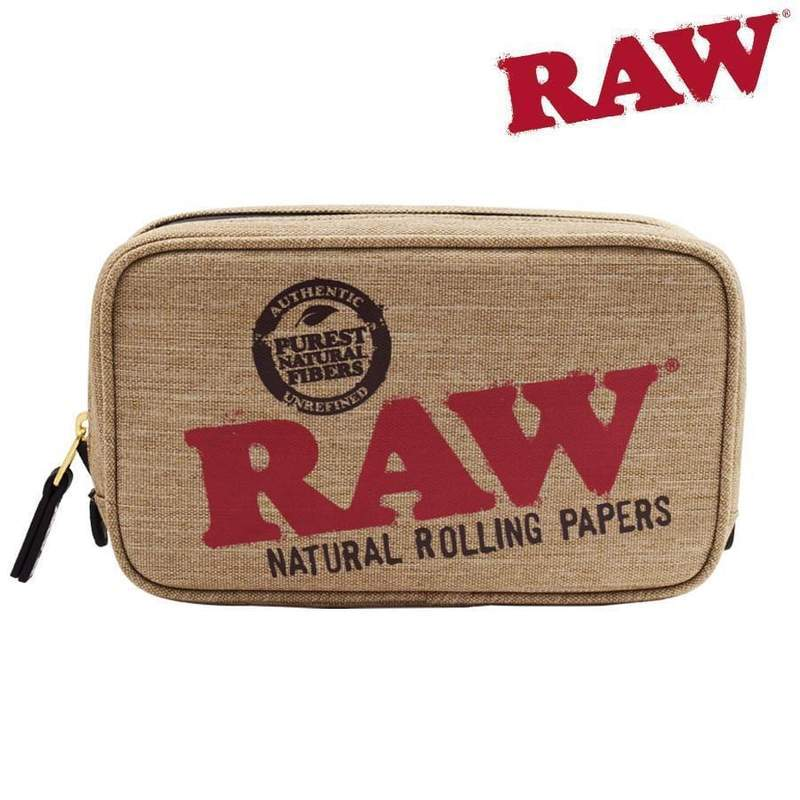 RAW Smell Proof Smokers Pouch, Large size