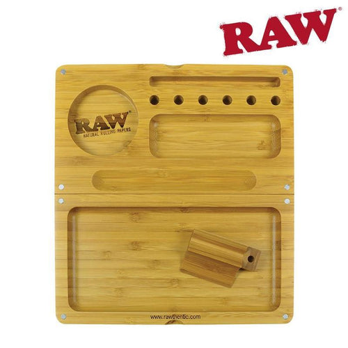 RAW Bamboo Backflip Rolling Tray