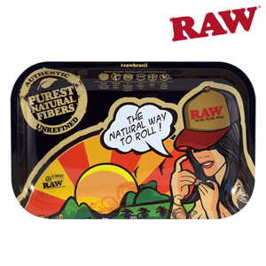 RAW Brazil Rolling Tray, Size Small