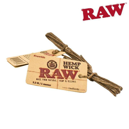 RAW Hemp Wick 3.3ft