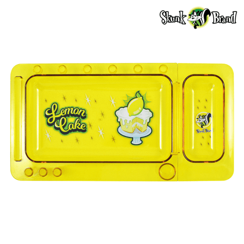 Rolling papers SKUNK Translucent Lemon Cake Rolling Tray