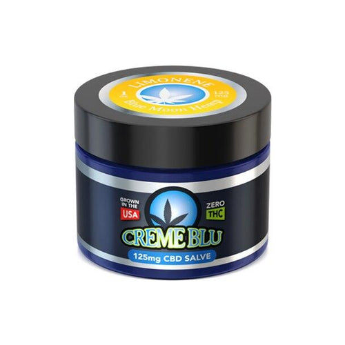 CBD Cream Blue Moon Hemp - CBD Topical - Limonene Salve - 1oz