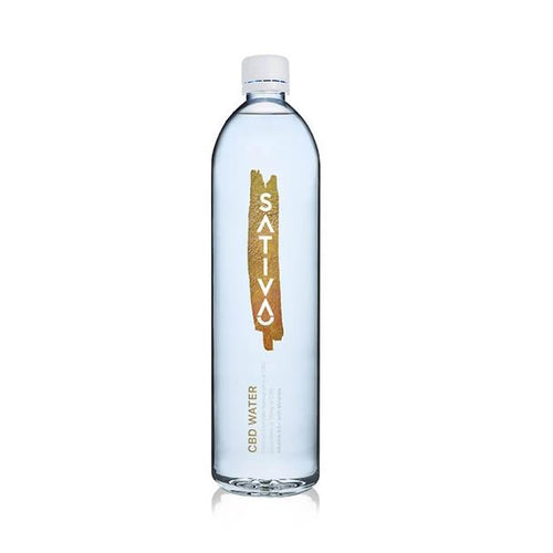 CBD Edibles Sativa Water - CBD Drink - 1 Liter - 25mg