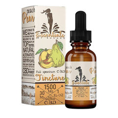 Savage - CBD Tincture - Peach & Pear - 1000mg-2000mg