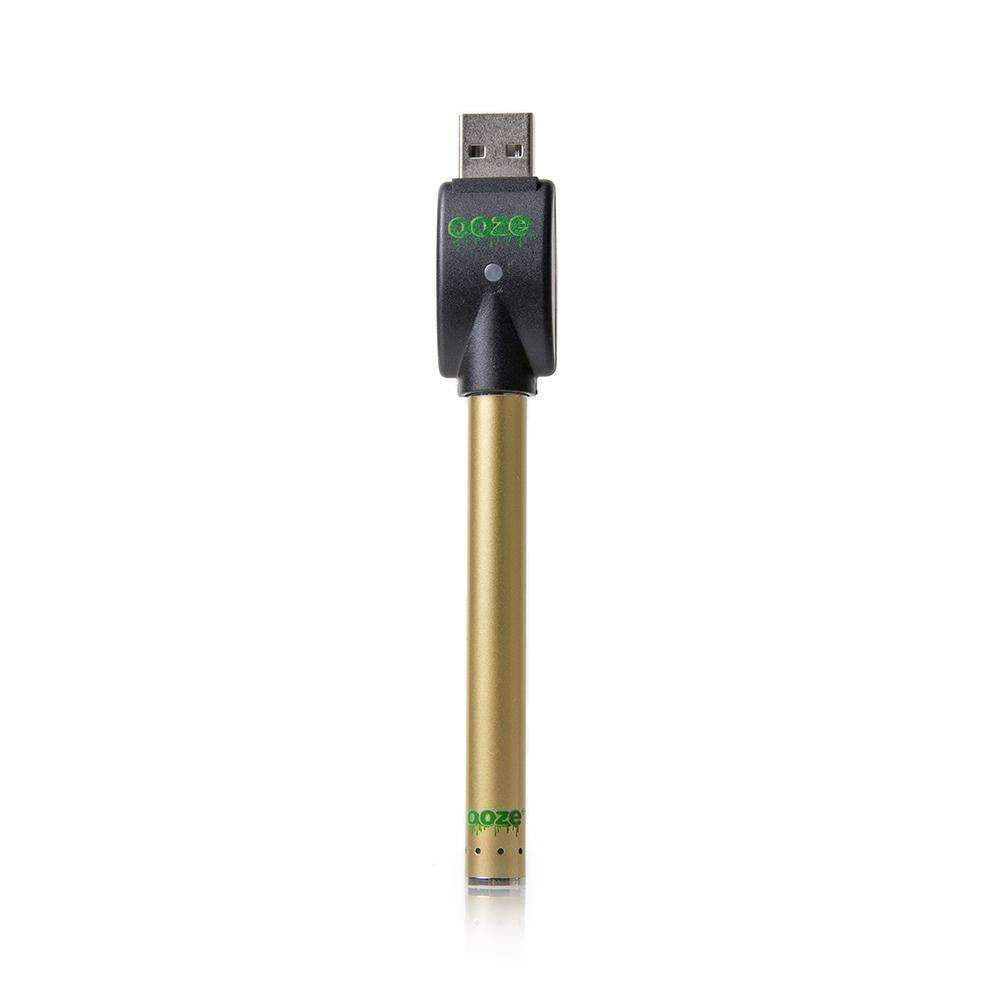 Batteries Ooze Slim Pen Touchless Battery w/ USB Charger - Gold