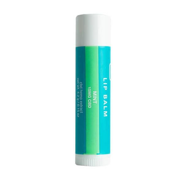 Social CBD - CBD Topical - Mint Flavored Lip Balm - 15mg