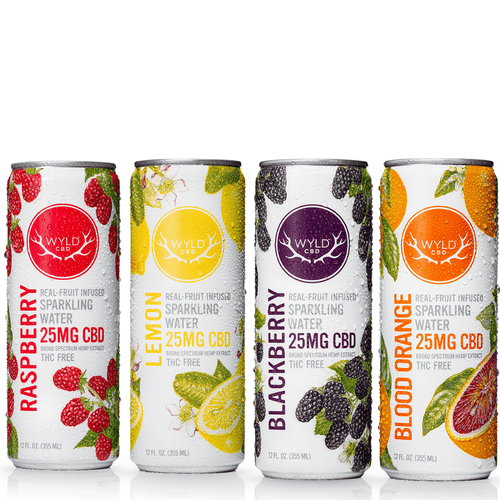 Cbd drinks Wyld CBD Sparkling Water – Assorted Pack