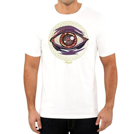 t-shirts Trippin Ball-Z White Tee