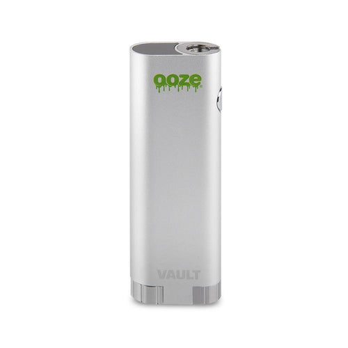 Batteries Ooze Vault Extract Battery with Storage Chamber - Stellar Silver