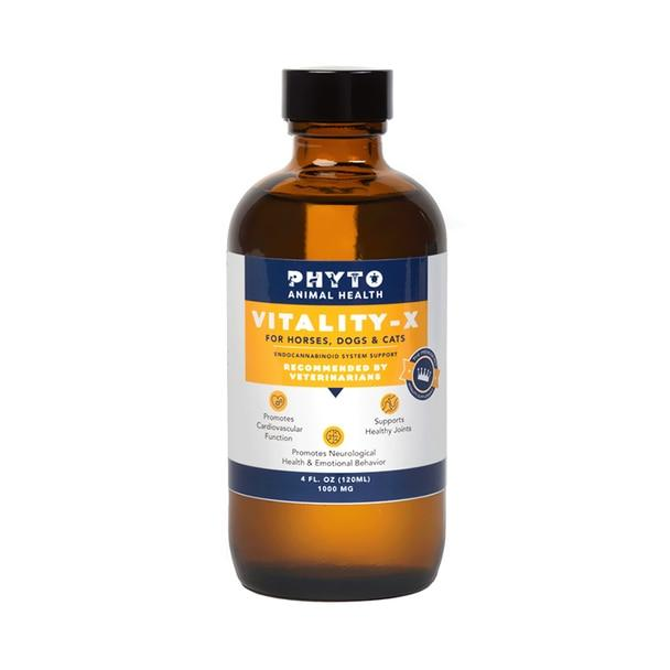 Cbd For Pets Phyto Animal Health - CBD Pet Tincture - Pet Vitality-X - 500mg-1000mg