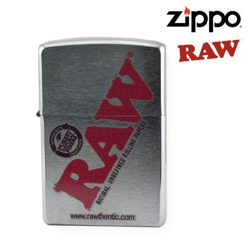 Rolling papers Zippo Lighter u2013 RAW Chrome