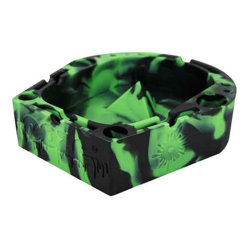 Ashtray Ooze Banger Tray - Green/Black