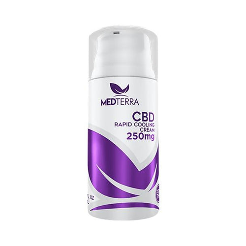 CBD Cream Medterra - CBD Topical - Rapid Cooling Cream 3.4 fl oz - 250mg-750mg