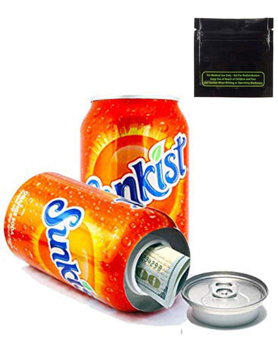 Stash box, Tins and containers Soft Drink Hidden Stash Can
