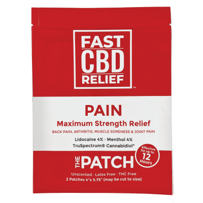 CBD for pets FAST CBD RELIEF™ CBD Pain Relief Patch