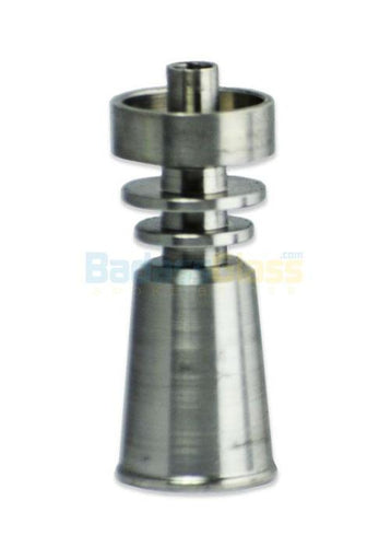 Carb cap Grade 5 Female Titanium Domeless Nail by Dab Logicu2122
