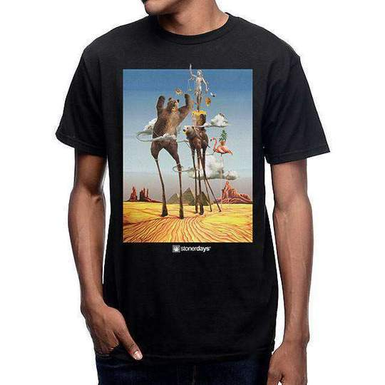 t-shirts MEN'S THE TEMPTATIONS OF STONERDAYS TEE