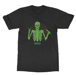 t-shirts Ooze Disrupt Skeleton Men's T- Shirt