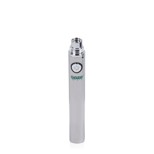 Ooze 650 Vape Battery - Chrome