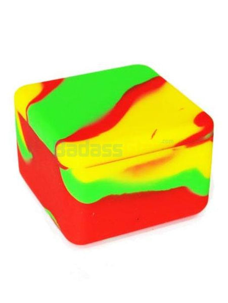Rasta Cube Wax Container