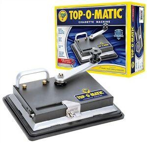 Roll-your-own accessories Top-O-Matic Cigarette Rolling Machine