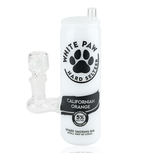 Bongs Empire Glassworks - White Paw Water Pipe
