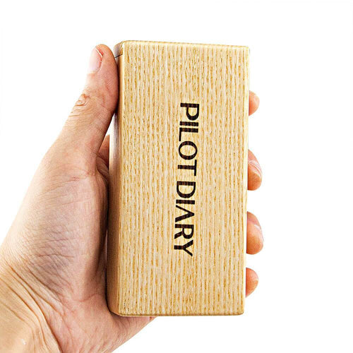 Dab Accessories Wood Dugout With Cleaning Tool