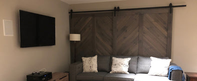 Save Space with a Sliding Barn Door