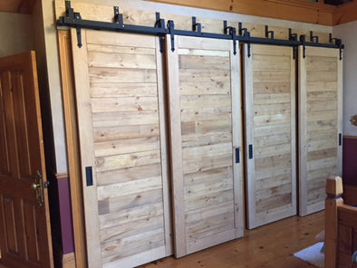 Soft Close Barn Door Hardware